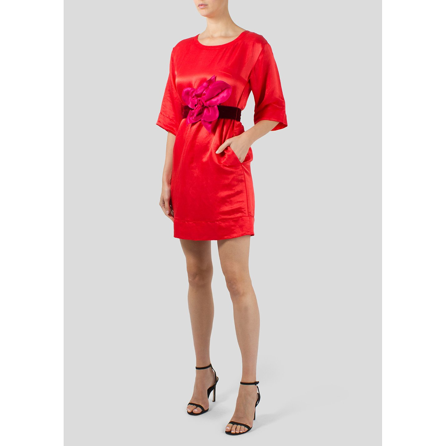 Marc Jacobs Tunic Dress with Statement Belt