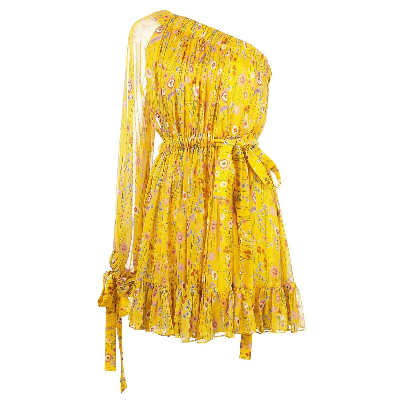 ALEXIS Edyta One-Shoulder Mini Dress