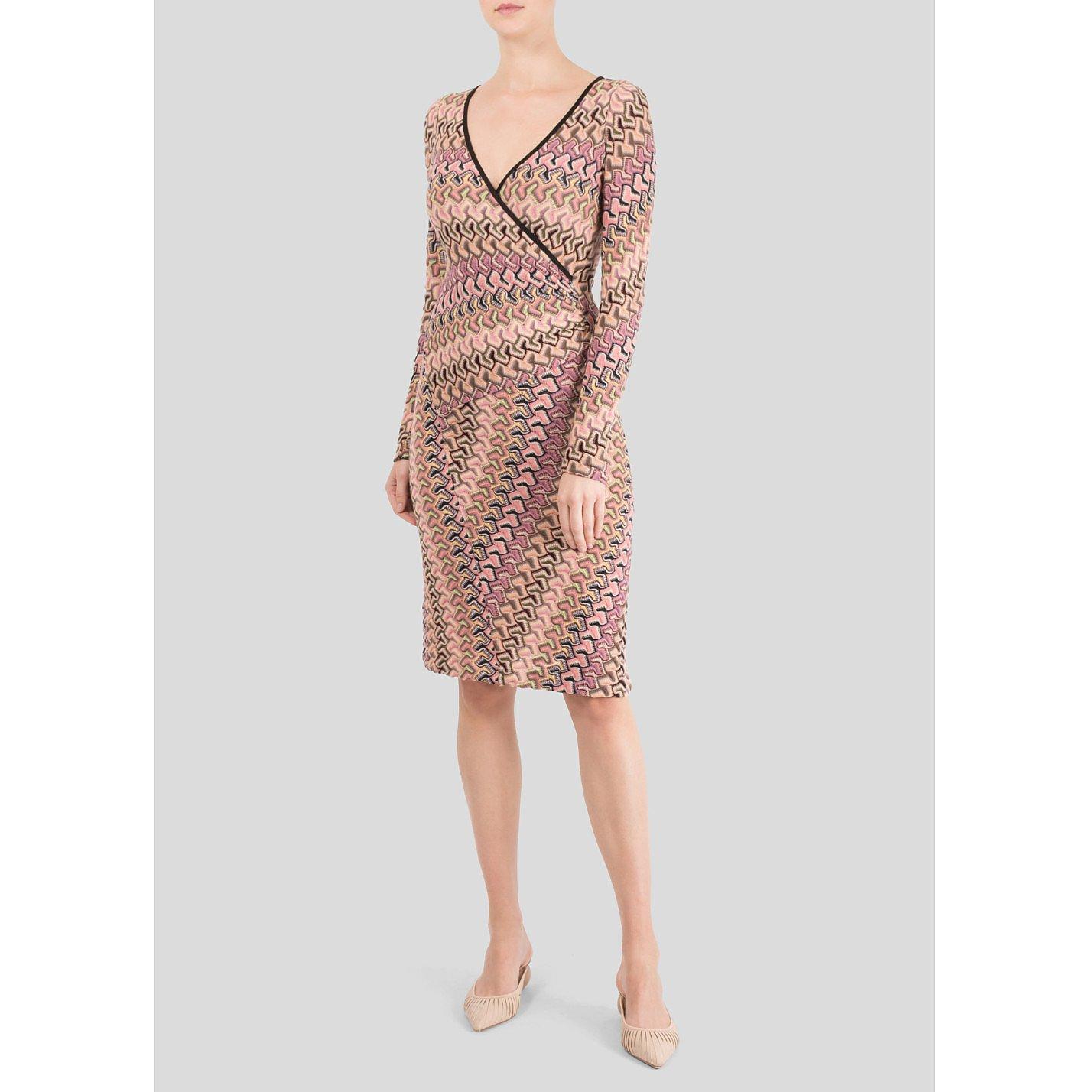 Missoni Multicolour Print Knit Dress