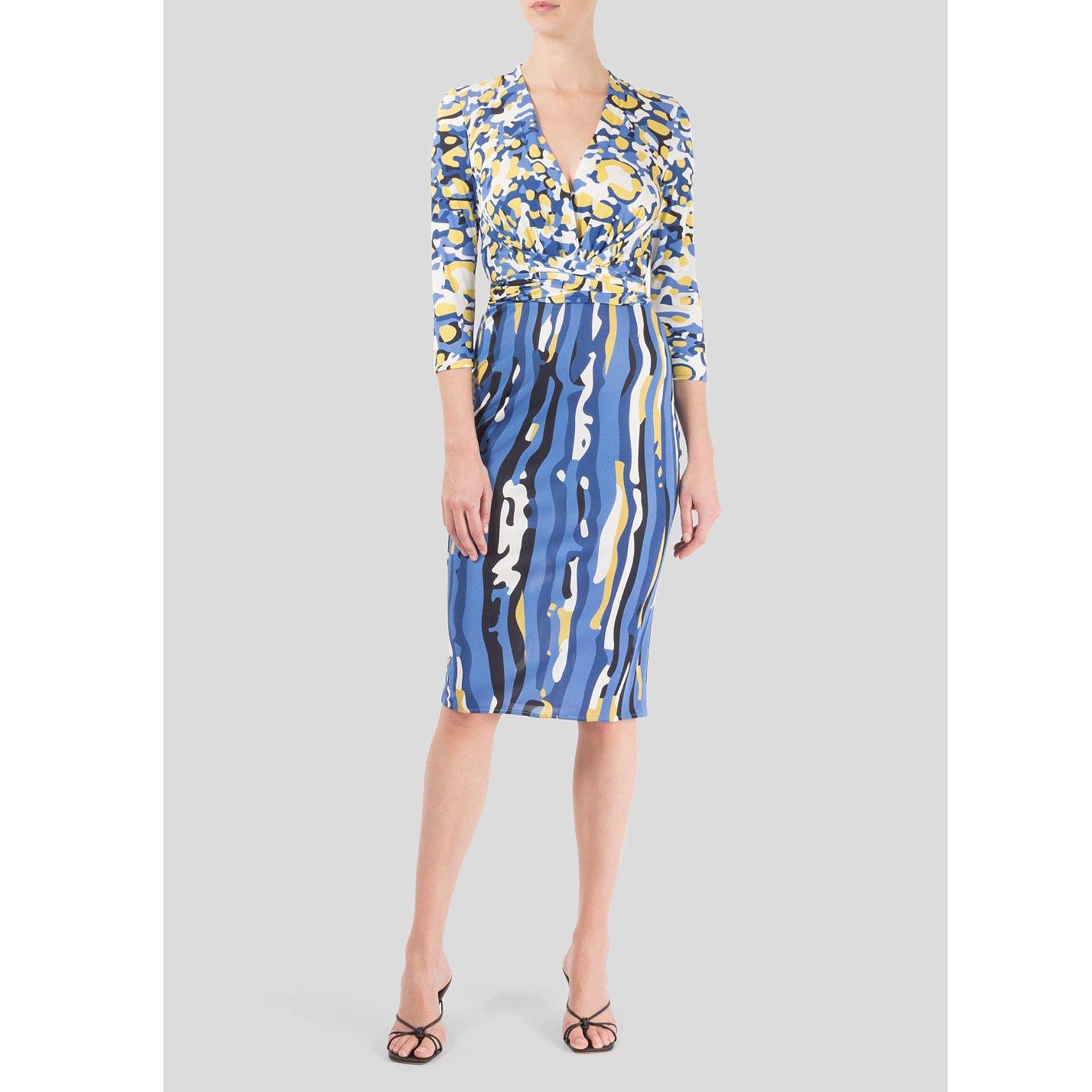 Dhela Patterned Dress