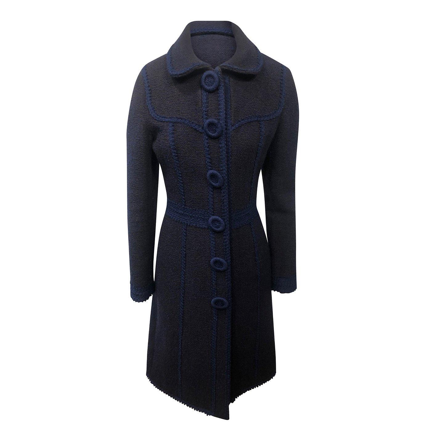 Andrew GN Textured Wool Coat