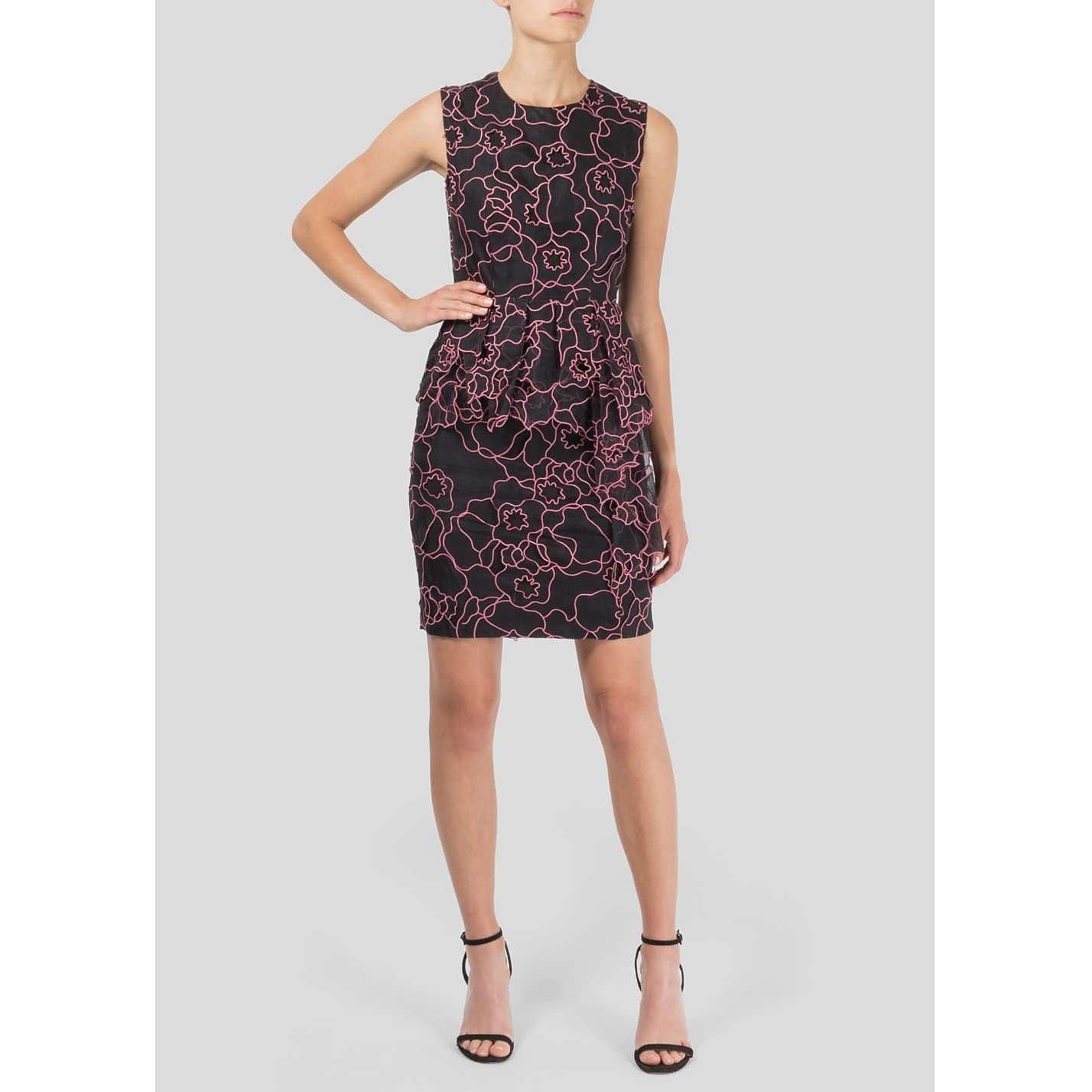 Diane von Furstenberg Sleeveless Embroidered Dress