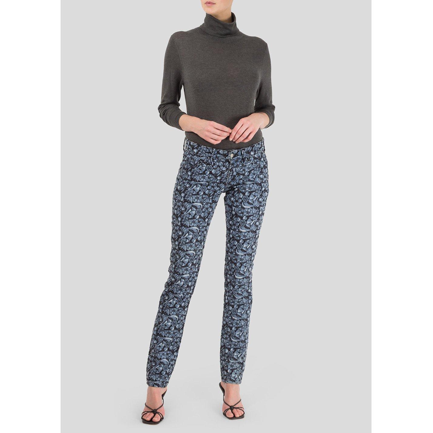 Isabel Marant Laser Cut Lace Jeans