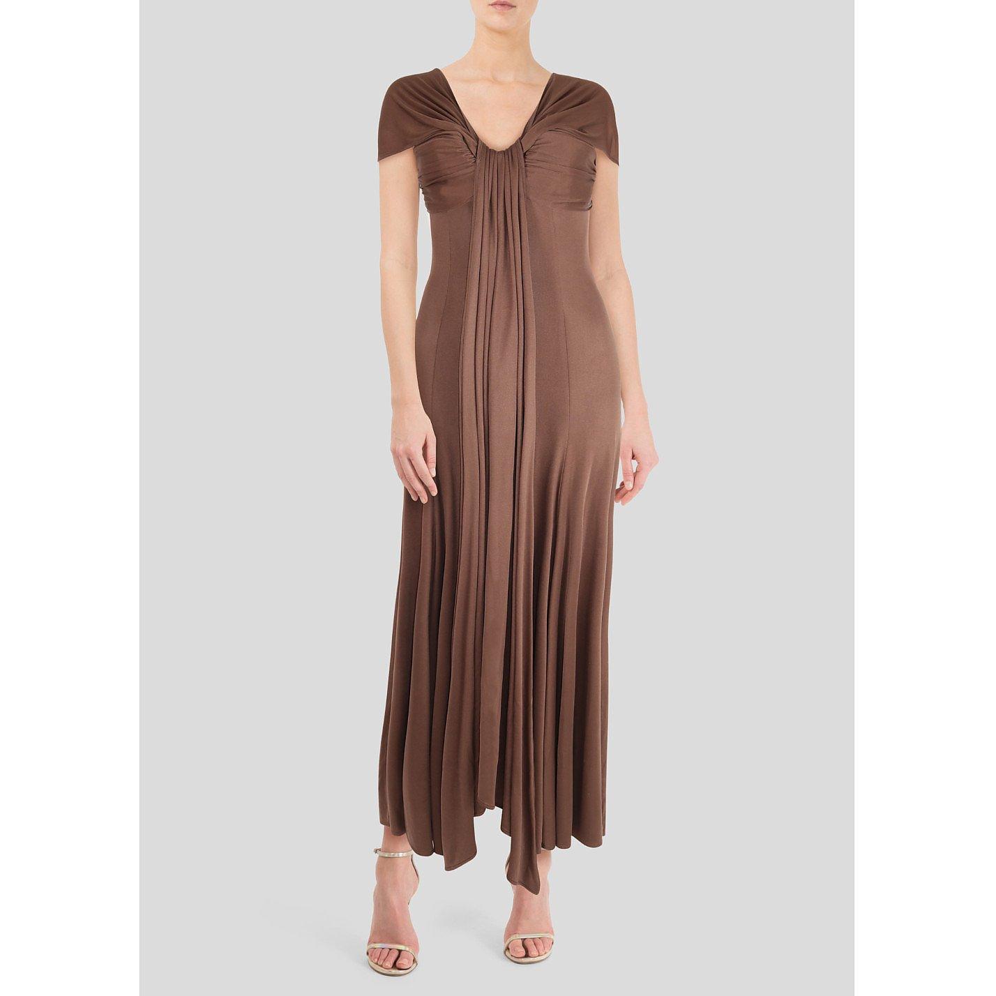 Amanda Wakeley Silk Satin Gown