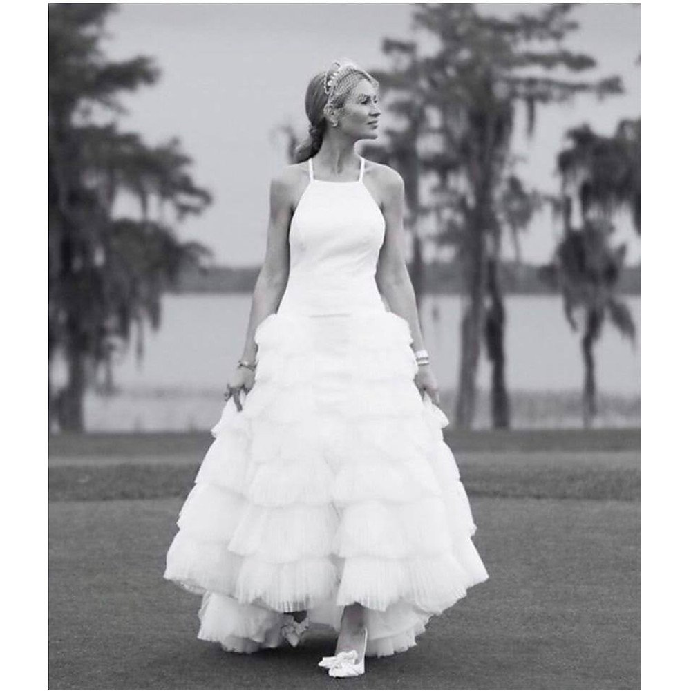 Kate Halfpenny Tiered Bridal Gown