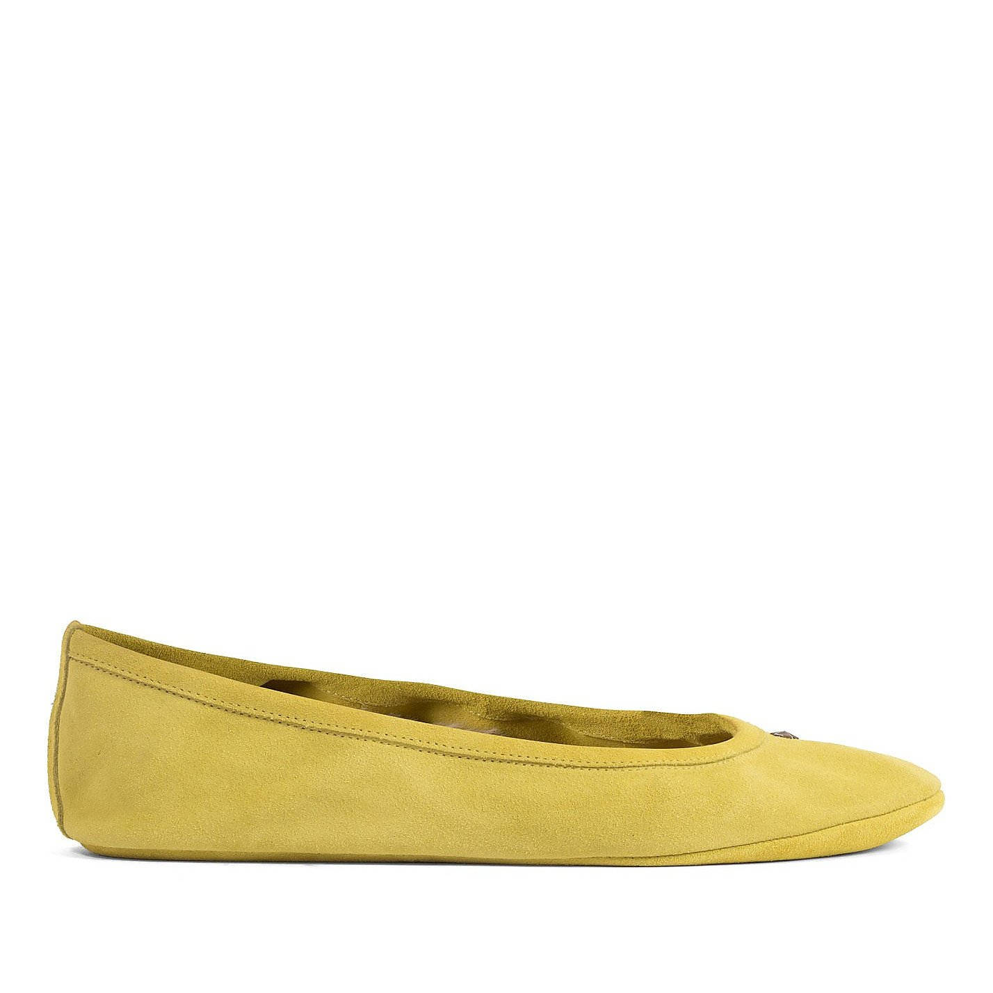 Jimmy Choo Suede Ballet Flat Slippers