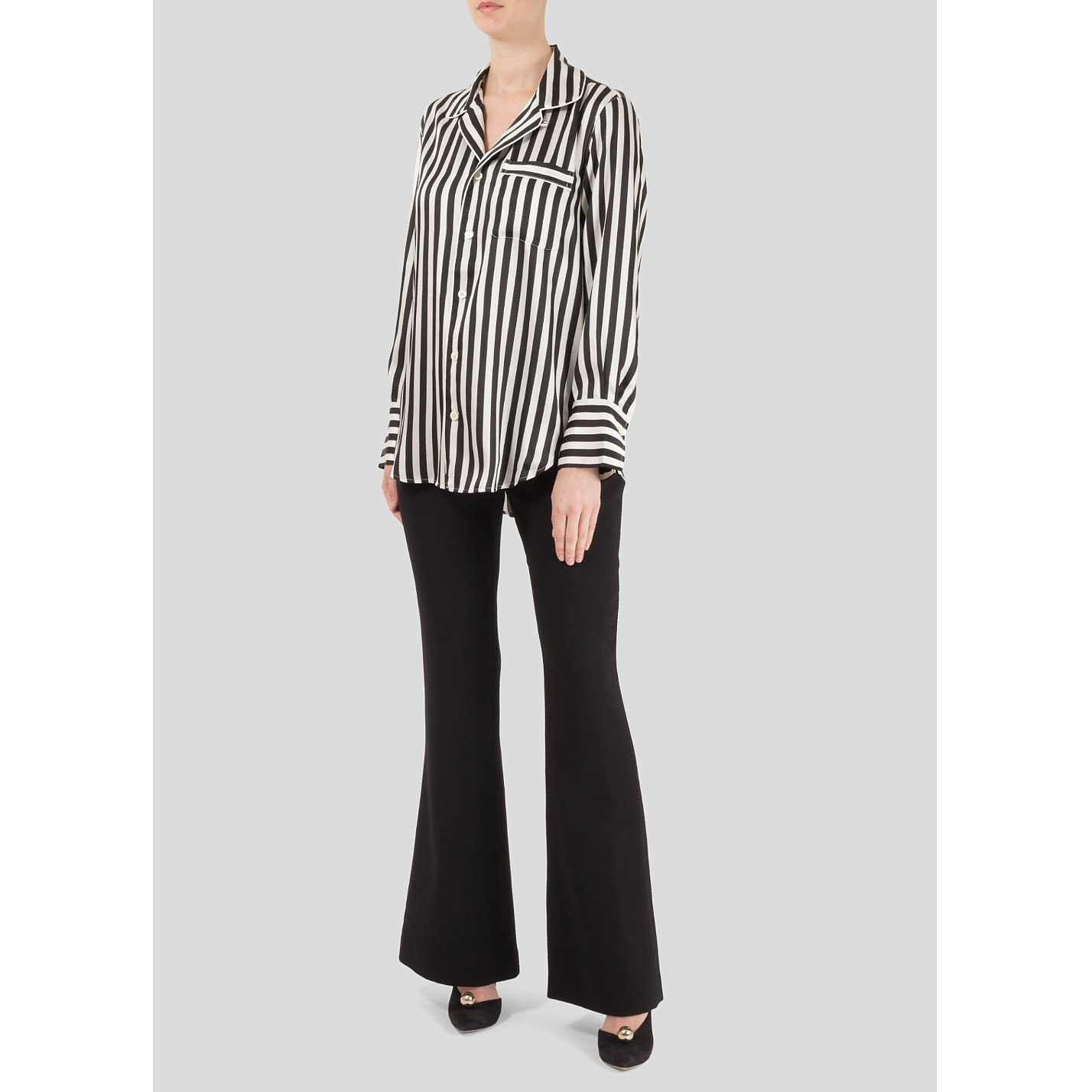 Polo Ralph Lauren Striped Pyjama Style Shirt