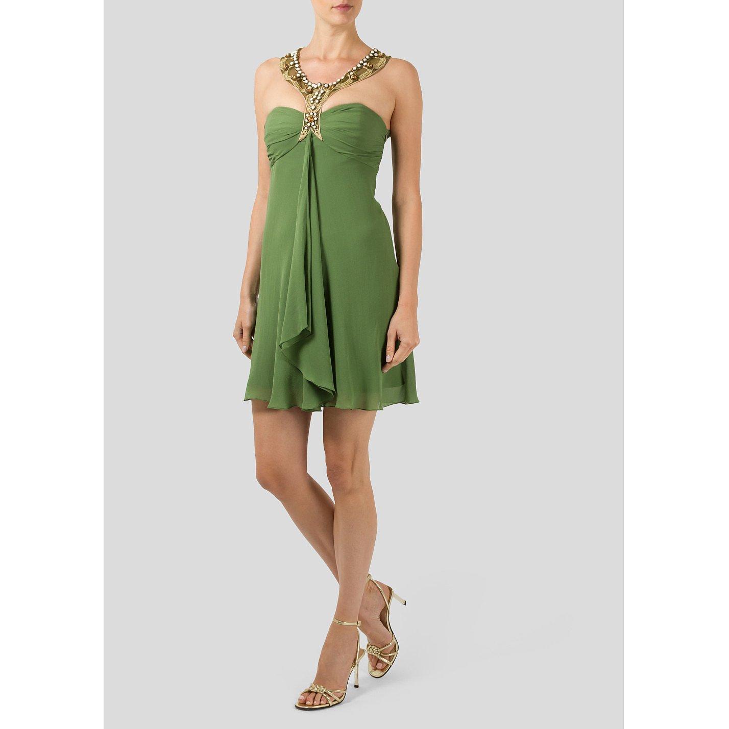 Temperley London Halterneck Mini Dress