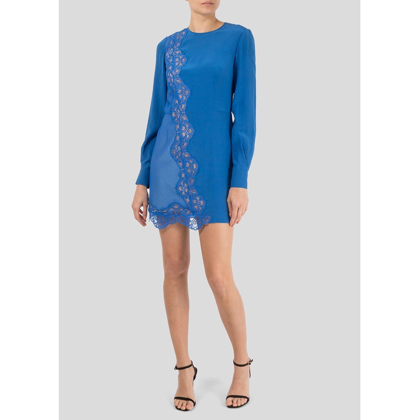 Stella McCartney Joan Silk And Lace Dress