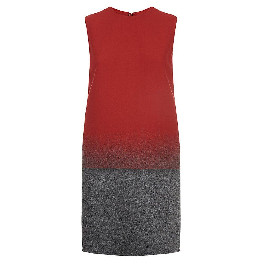 Victoria Beckham Ombre Shift Dress