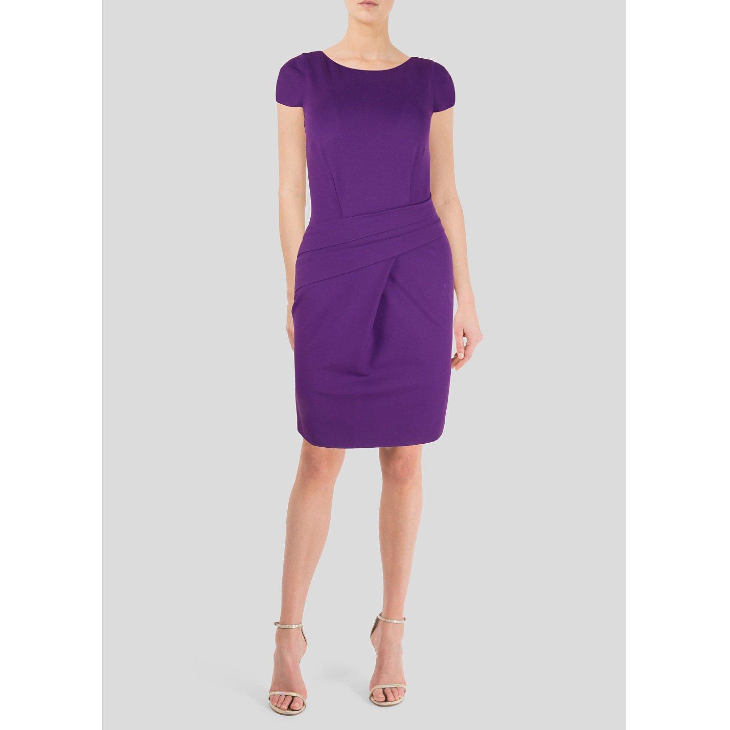 Michael Kors Fitted Short Sleeve Dress