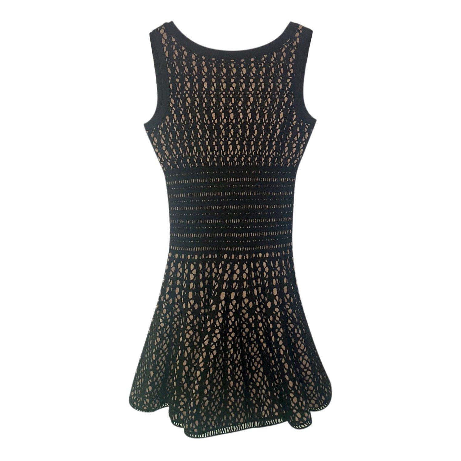 Alaïa Sleeveless Knit Dress