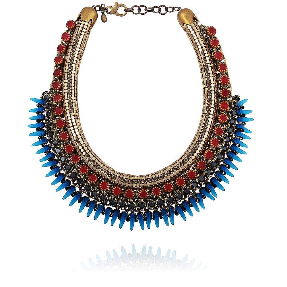 Sveva Andromaca Necklace in Red & Blue