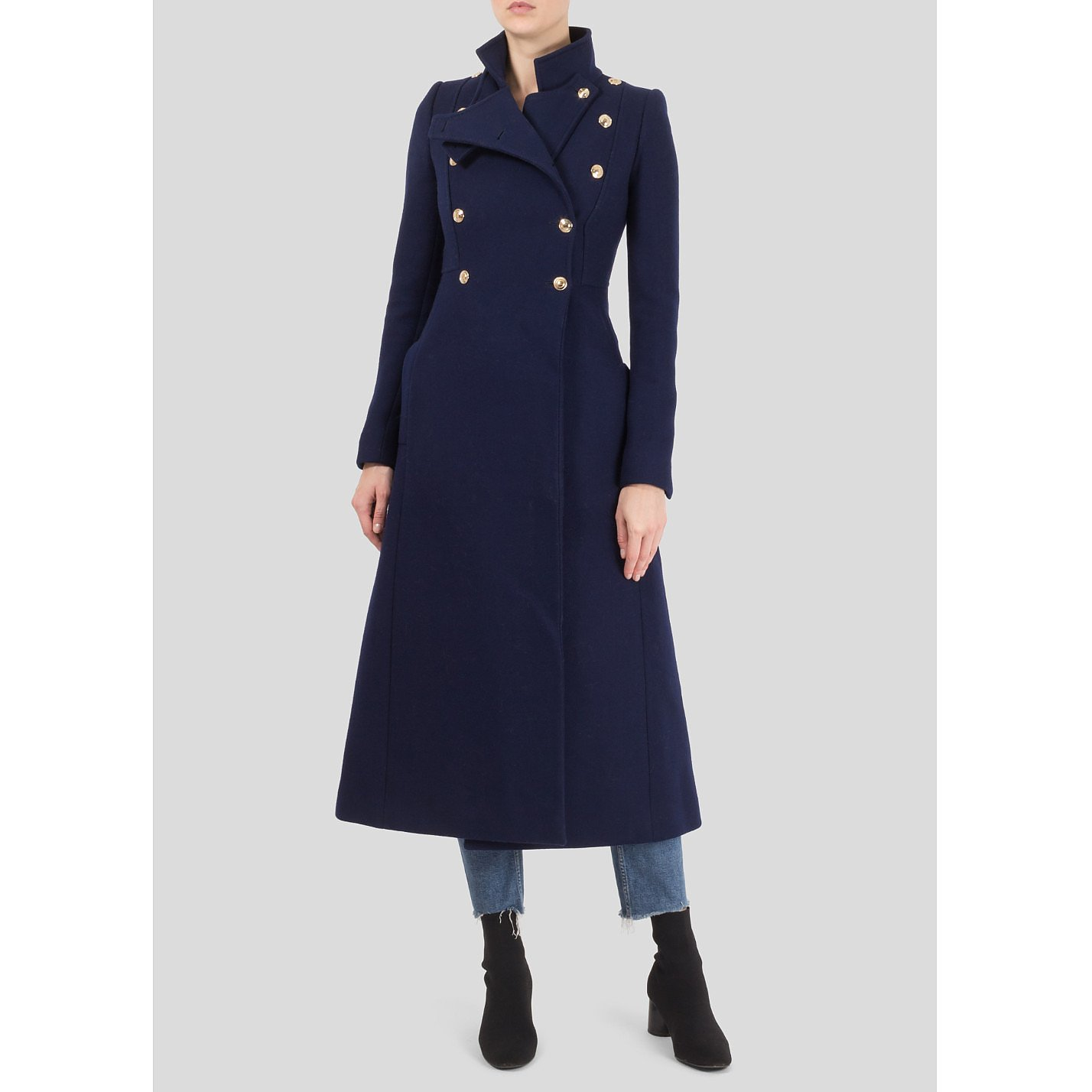 Gucci Tailored Military Coat