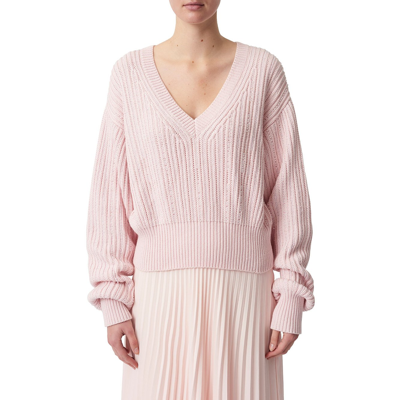 Noon By Noor Whitby V-Neck Sweater
