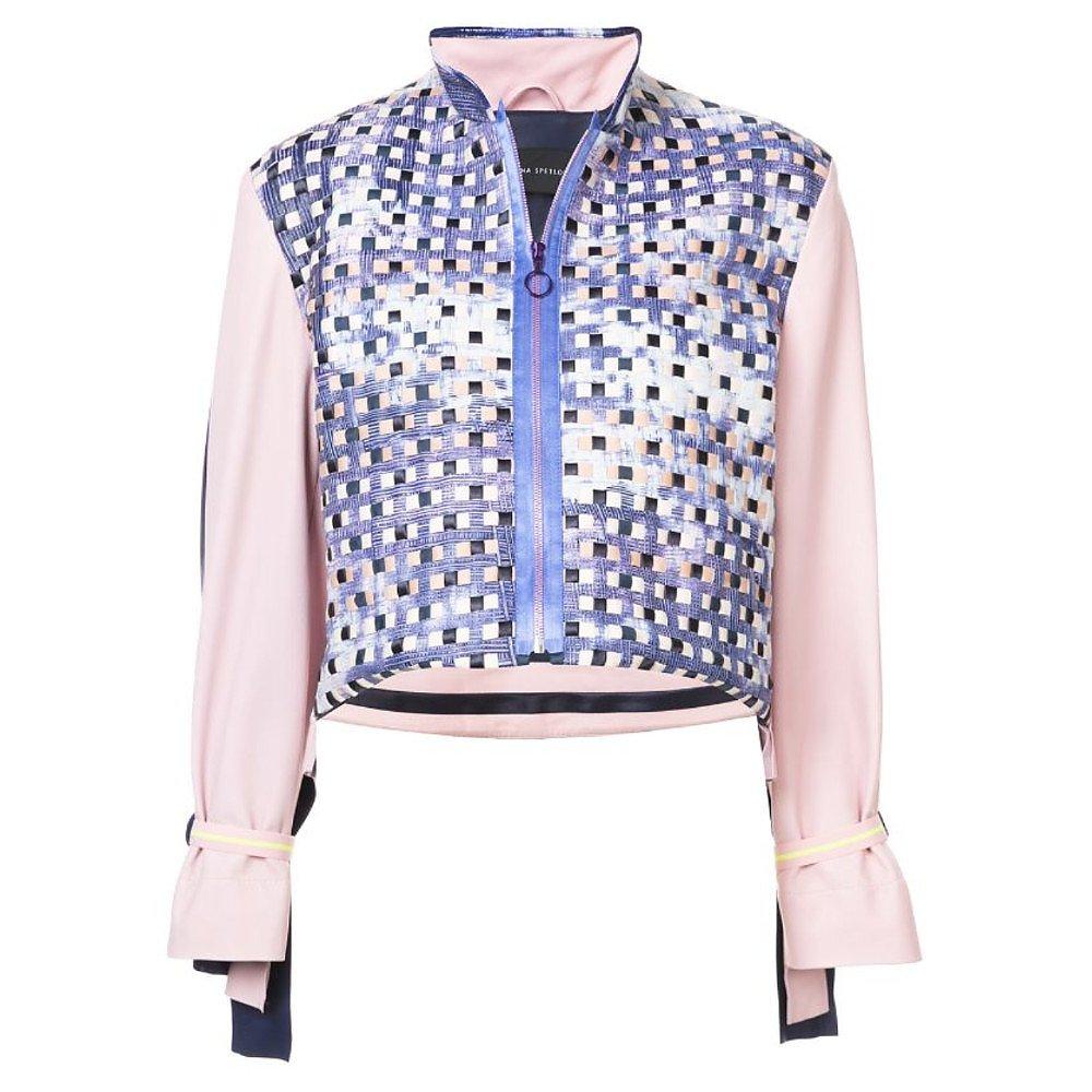 Martina Spetlova Woven Colour-Block Jacket