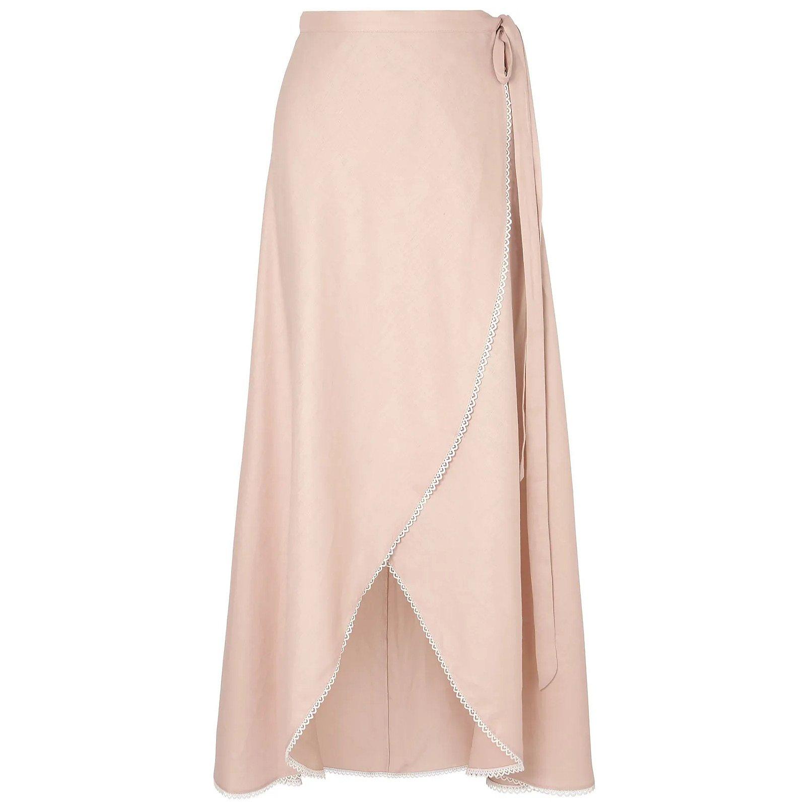 Miguelina Ballerina Asymmetrical Wrap Skirt