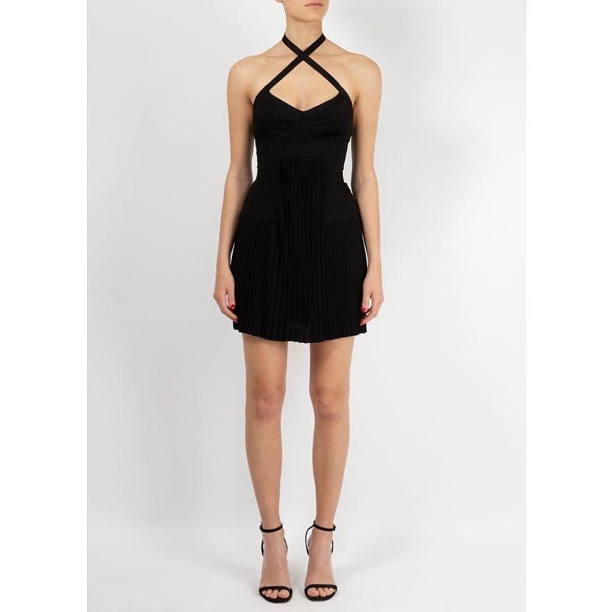 Balmain Halterneck Mini Dress
