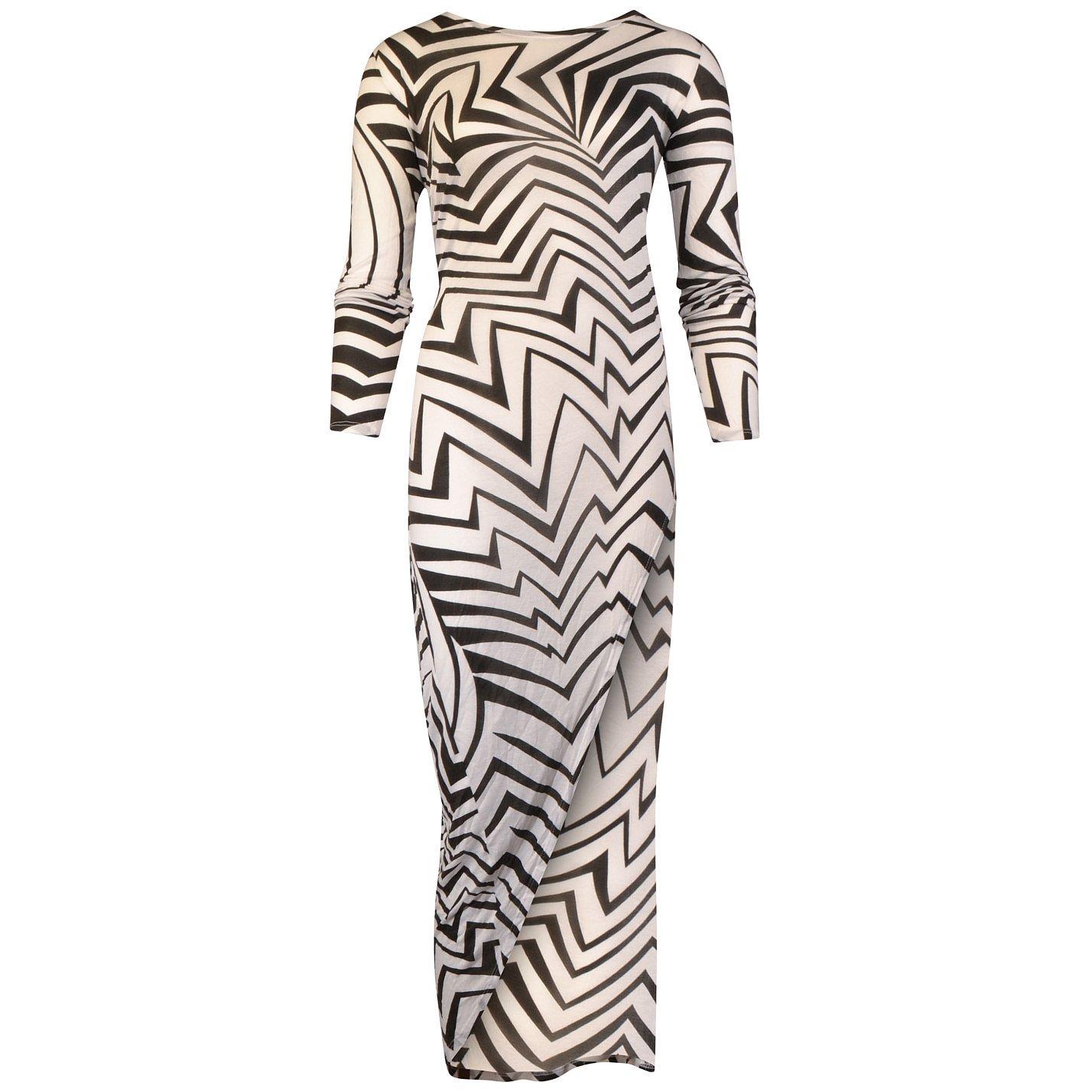 Thakoon Abstract Print Midi Dress