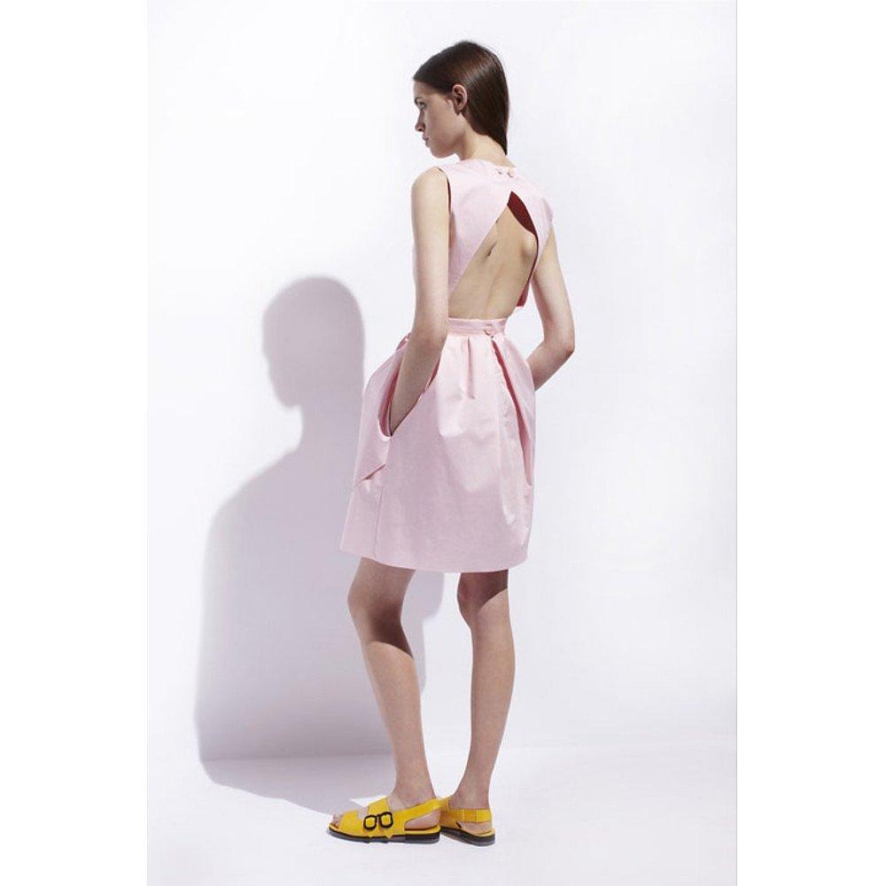 Carven Open Back Cotton Dress