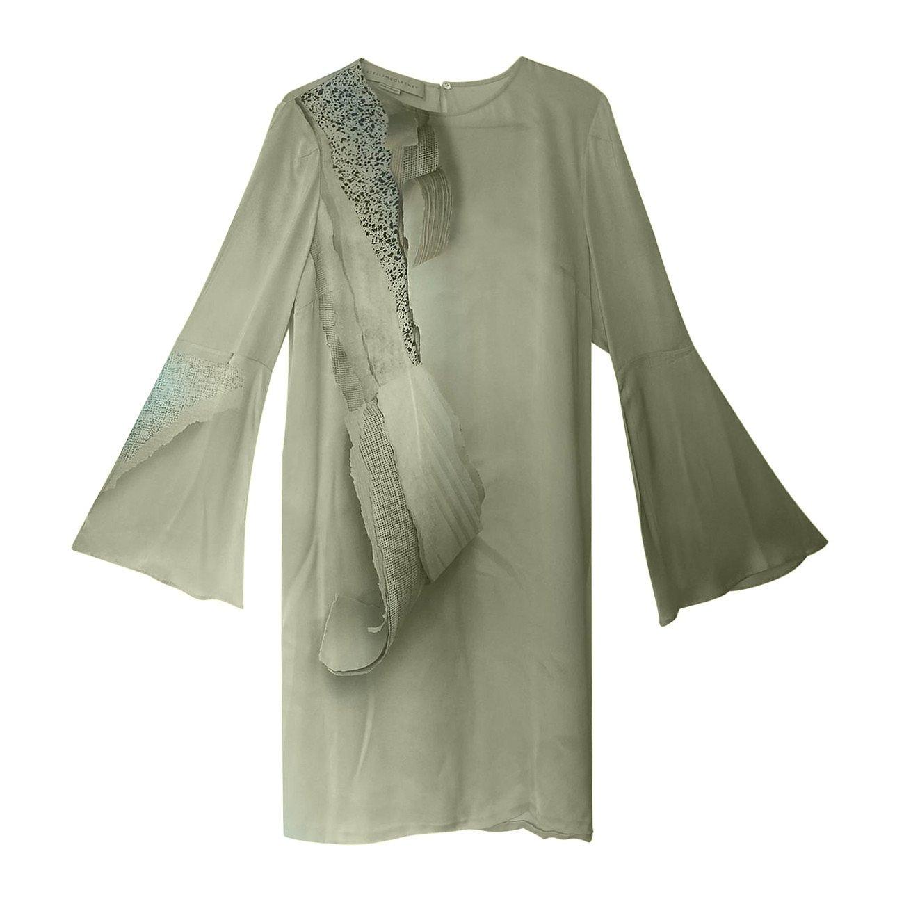Stella McCartney Silk Print Shift Dress