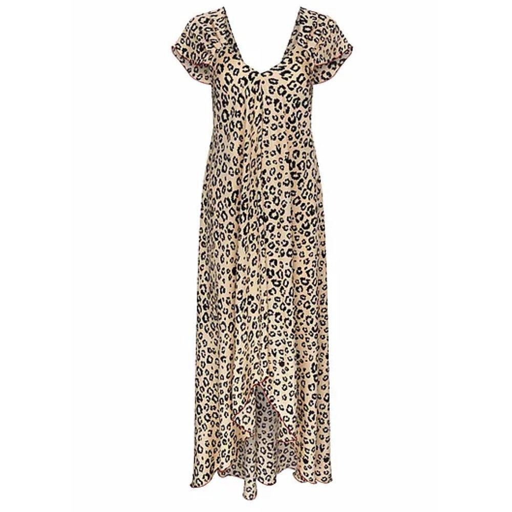 Gem London Manu Dress In Leopard