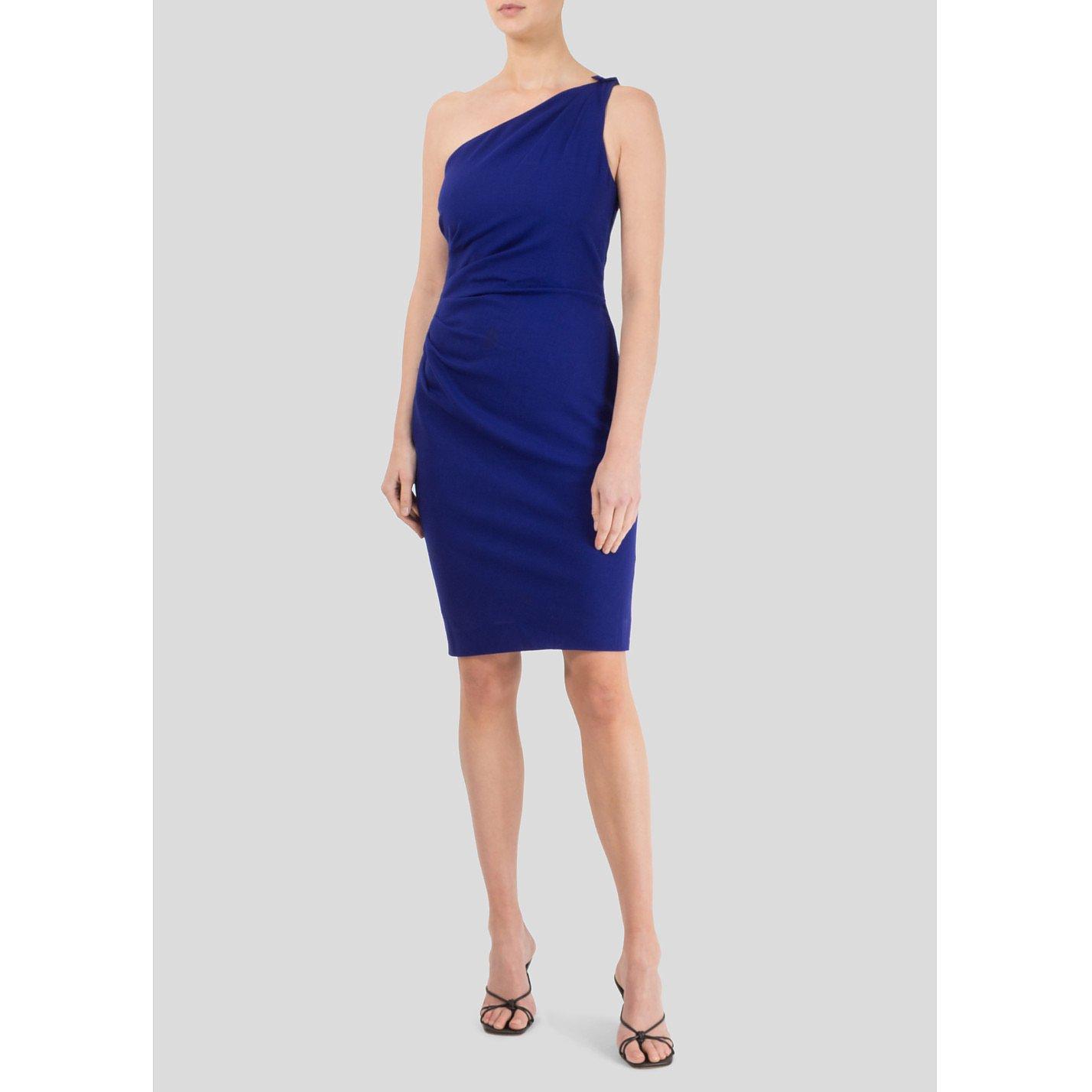 Lois Azzaro One Shoulder Dress