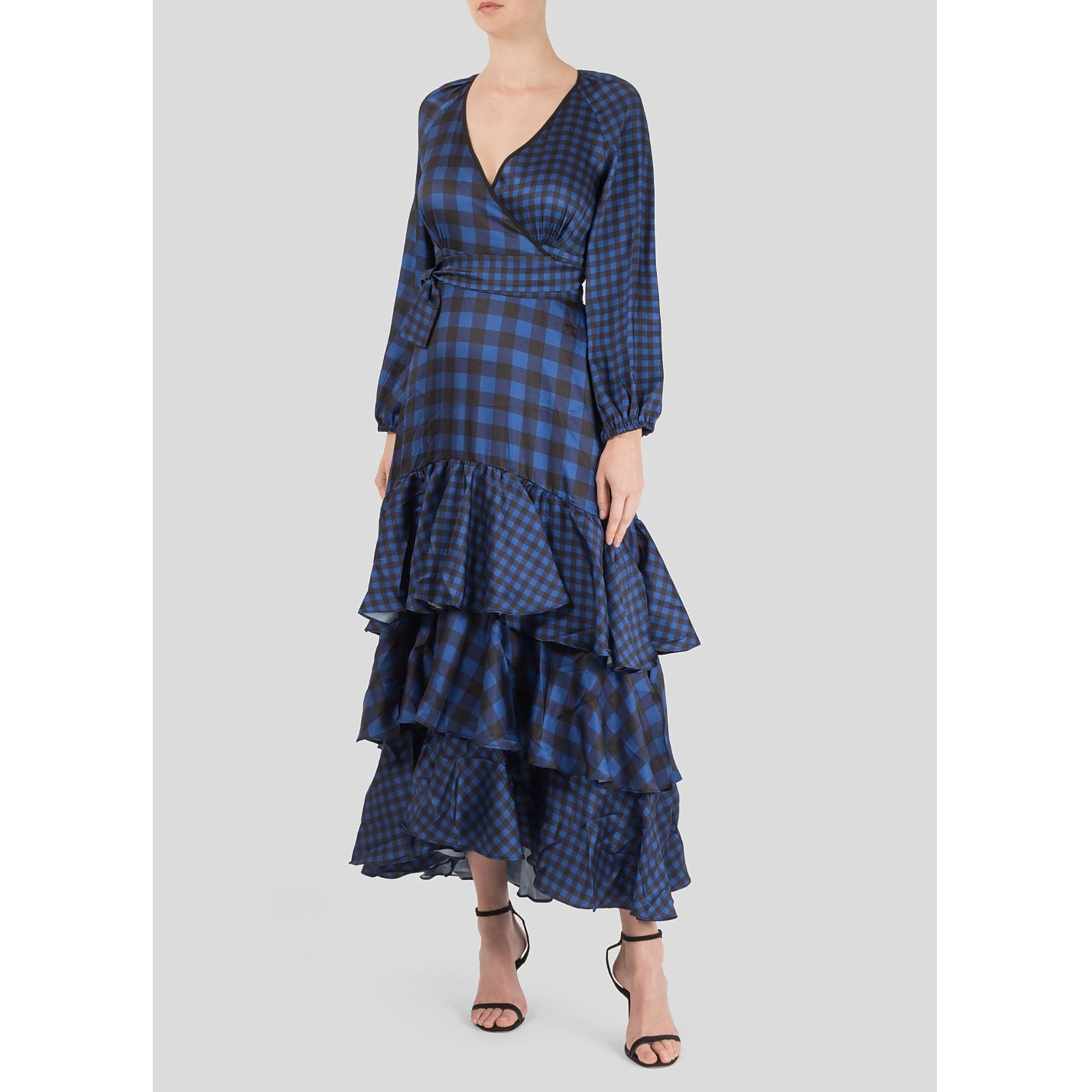 Paper London Neli Gingham Dress