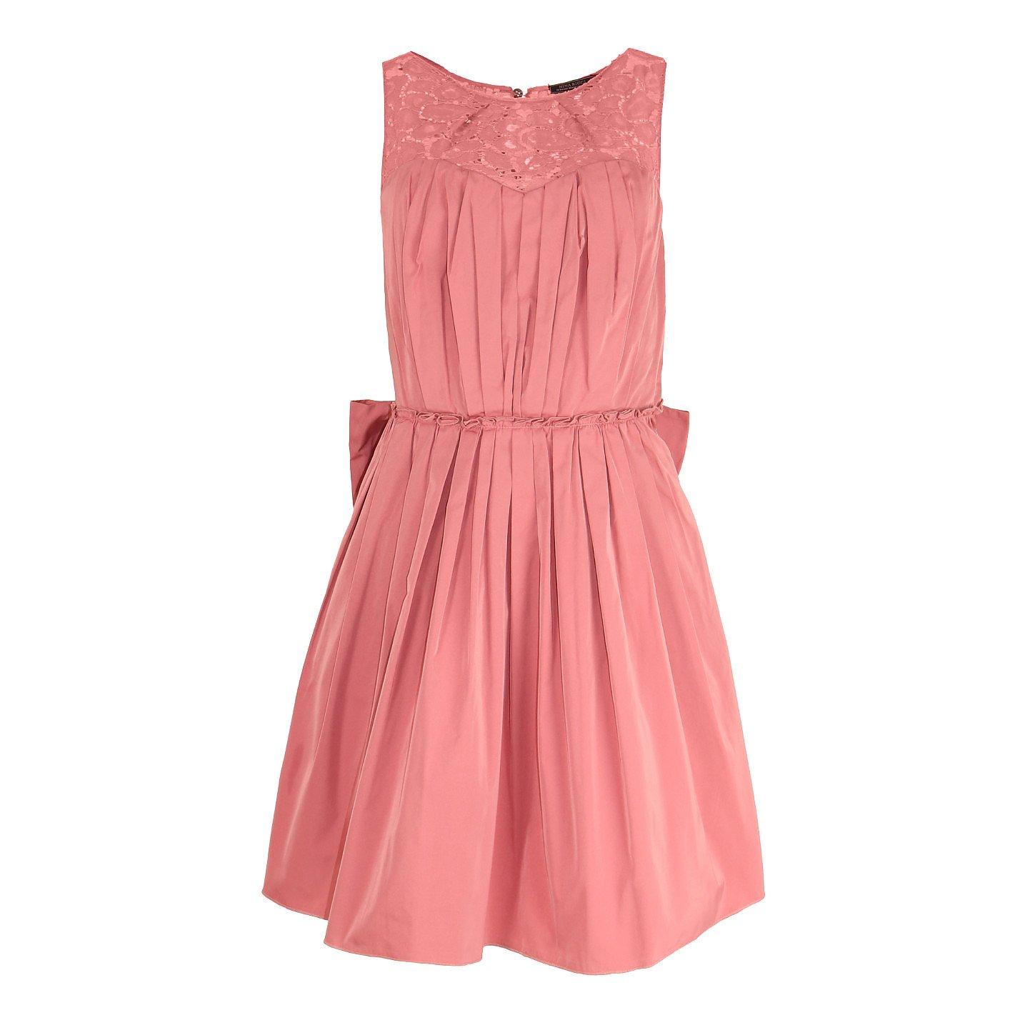 Nina Ricci Taffeta & Lace Dress