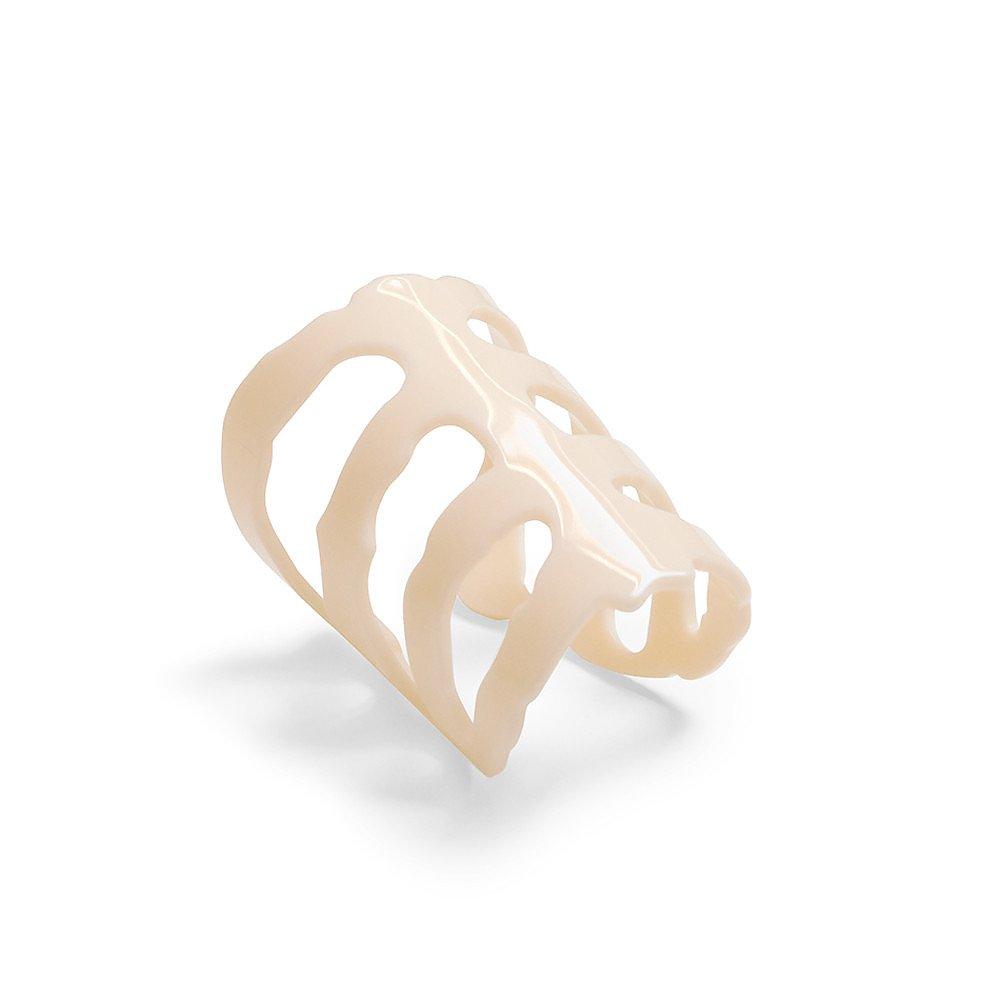 Diana Broussard Vertebrae Mini Bracelet In White