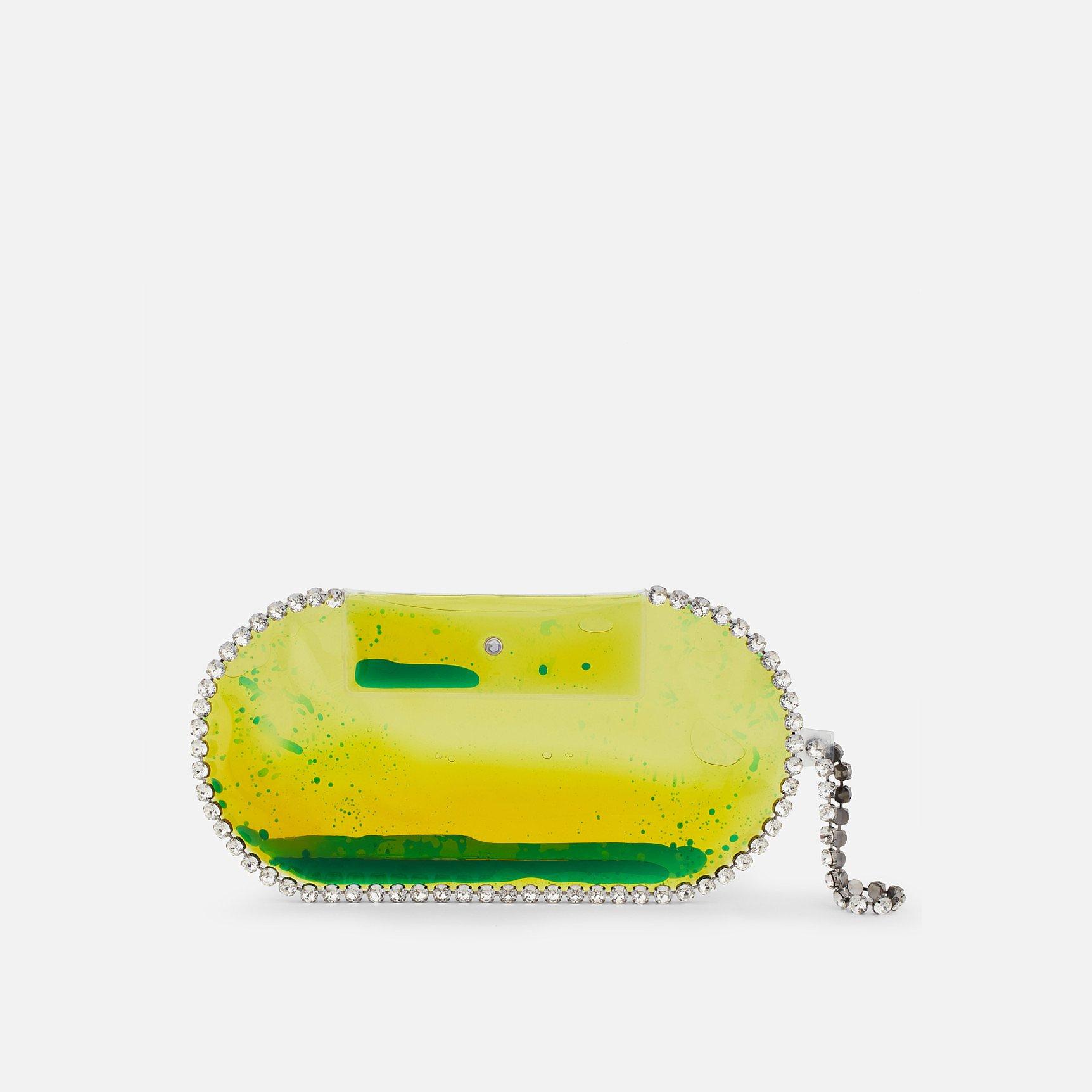 Christopher Kane Large PVC Crystal Bag