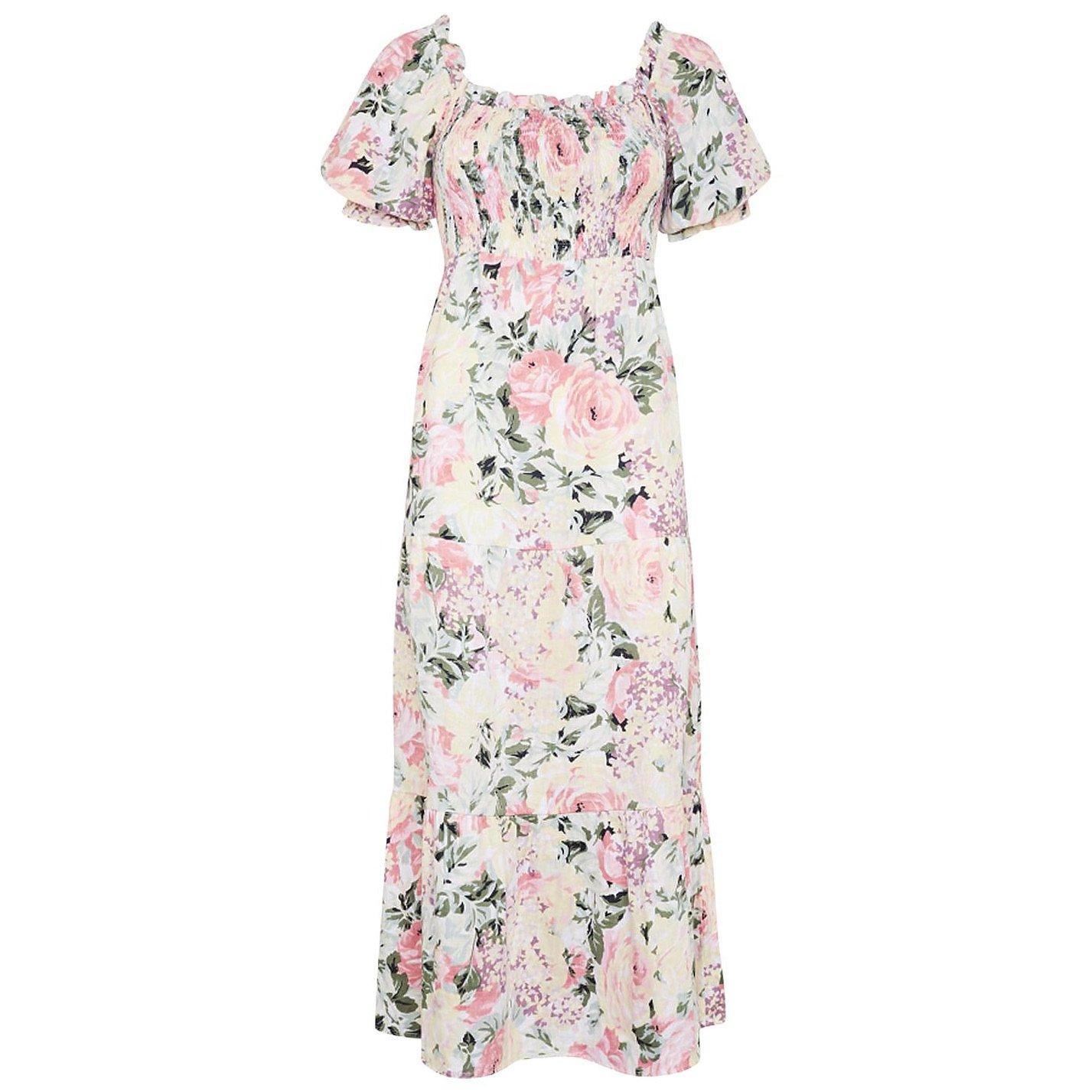 Faithfull The Brand Floral De Christen Midi Dress