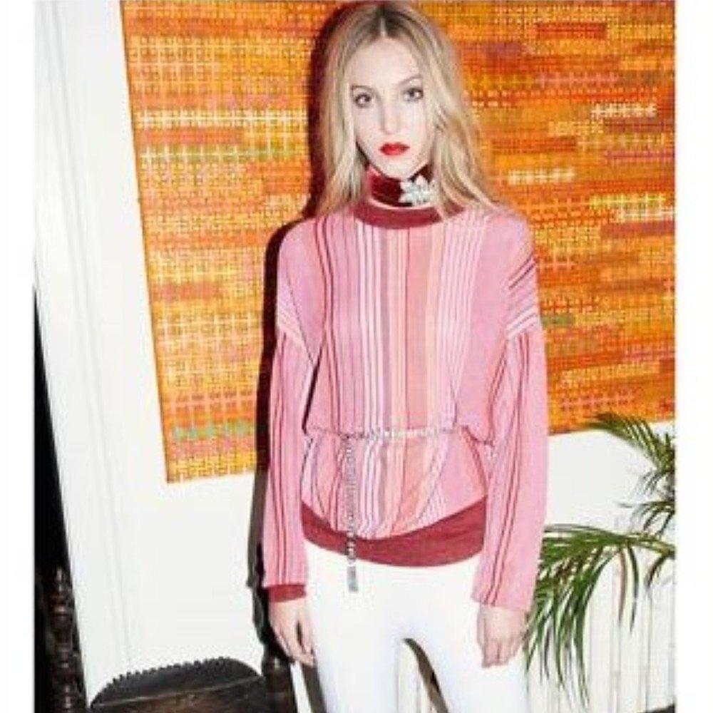 Dhela Metallic Knitted Jumper