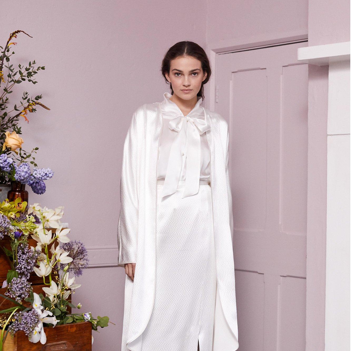 Halfpenny London Parry Silk Blouse