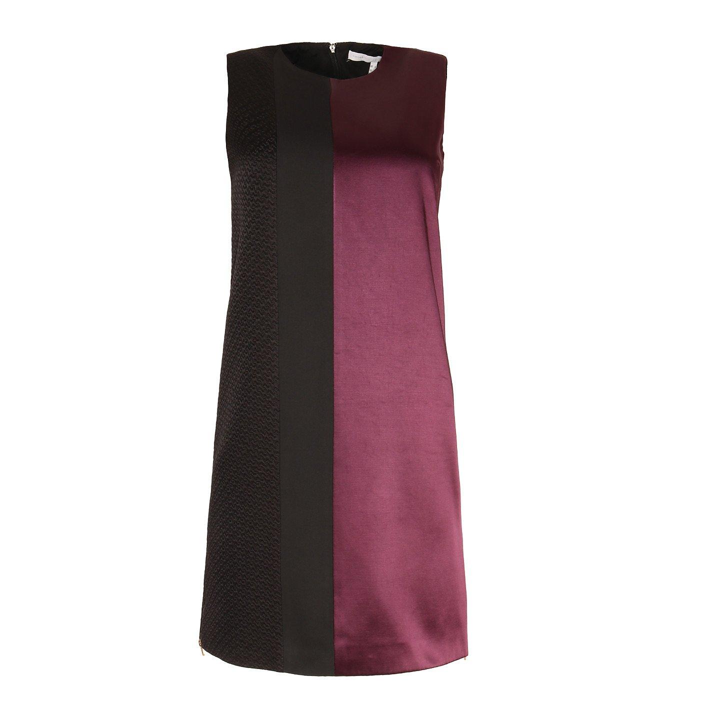 Victoria Beckham Contrast Panelled Dress