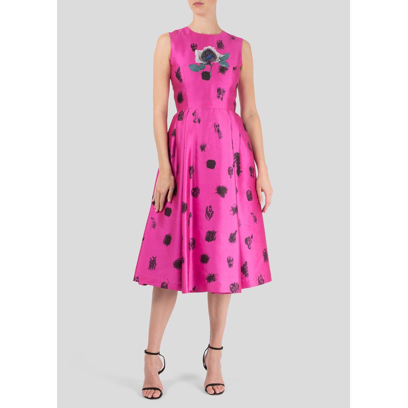 Starsica Printed Midi Dress