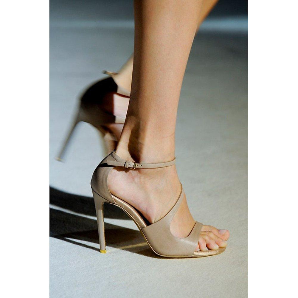 Stella McCartney Faux Leather Heeled Sandals