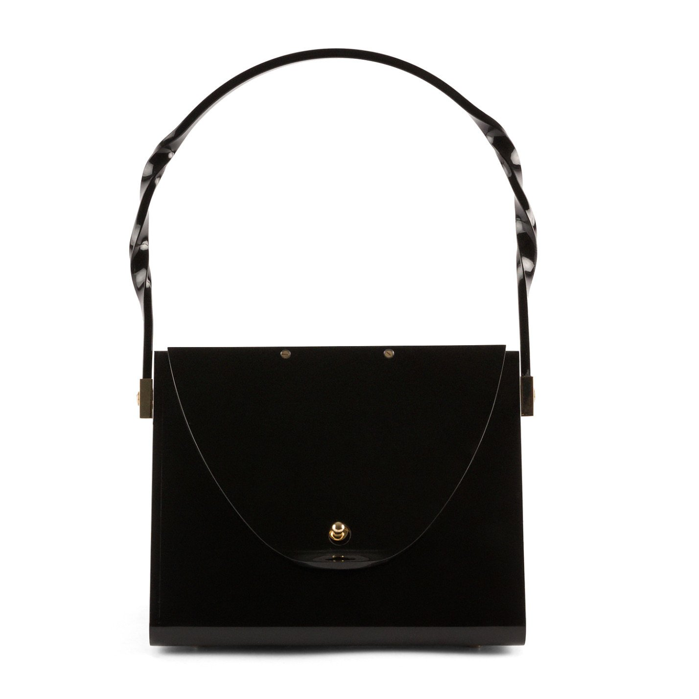 Charlotte Olympia Perspex Bag With Top Handle
