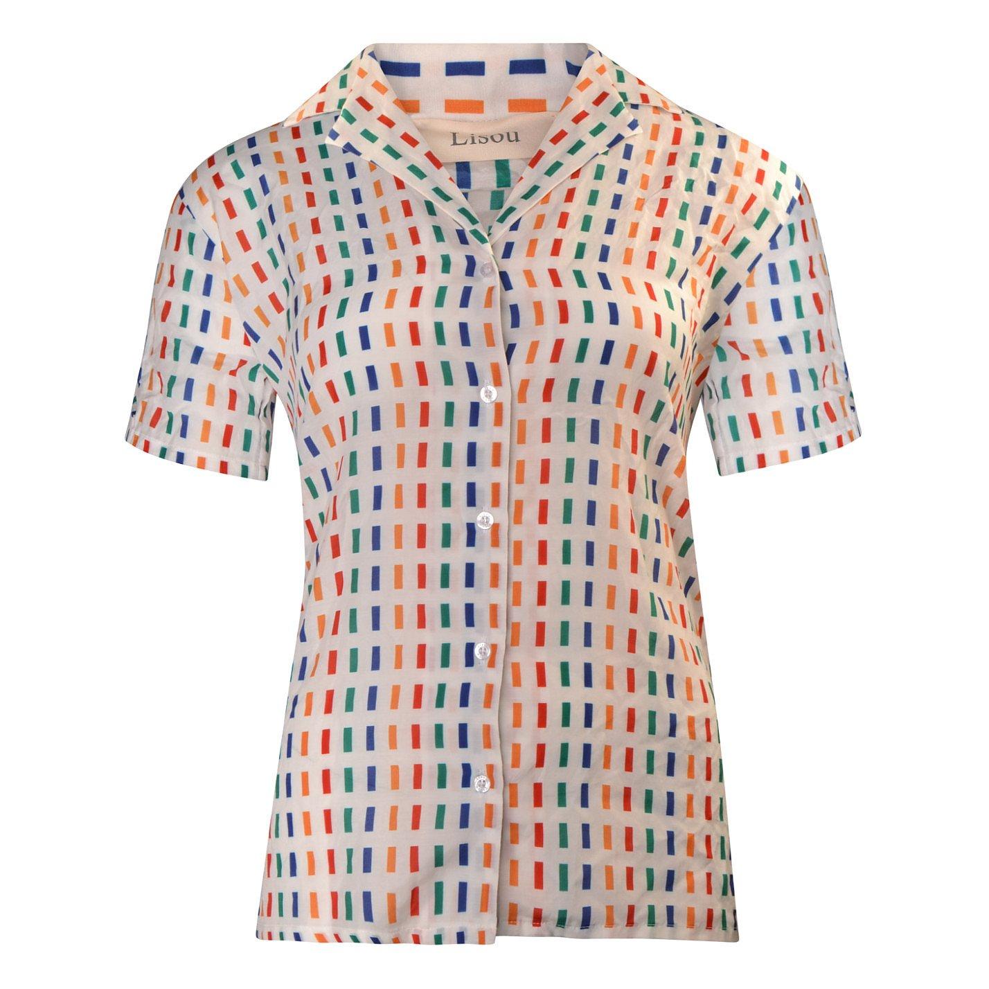 Lisou Victoire Rainbow Dash Cotton Shirt