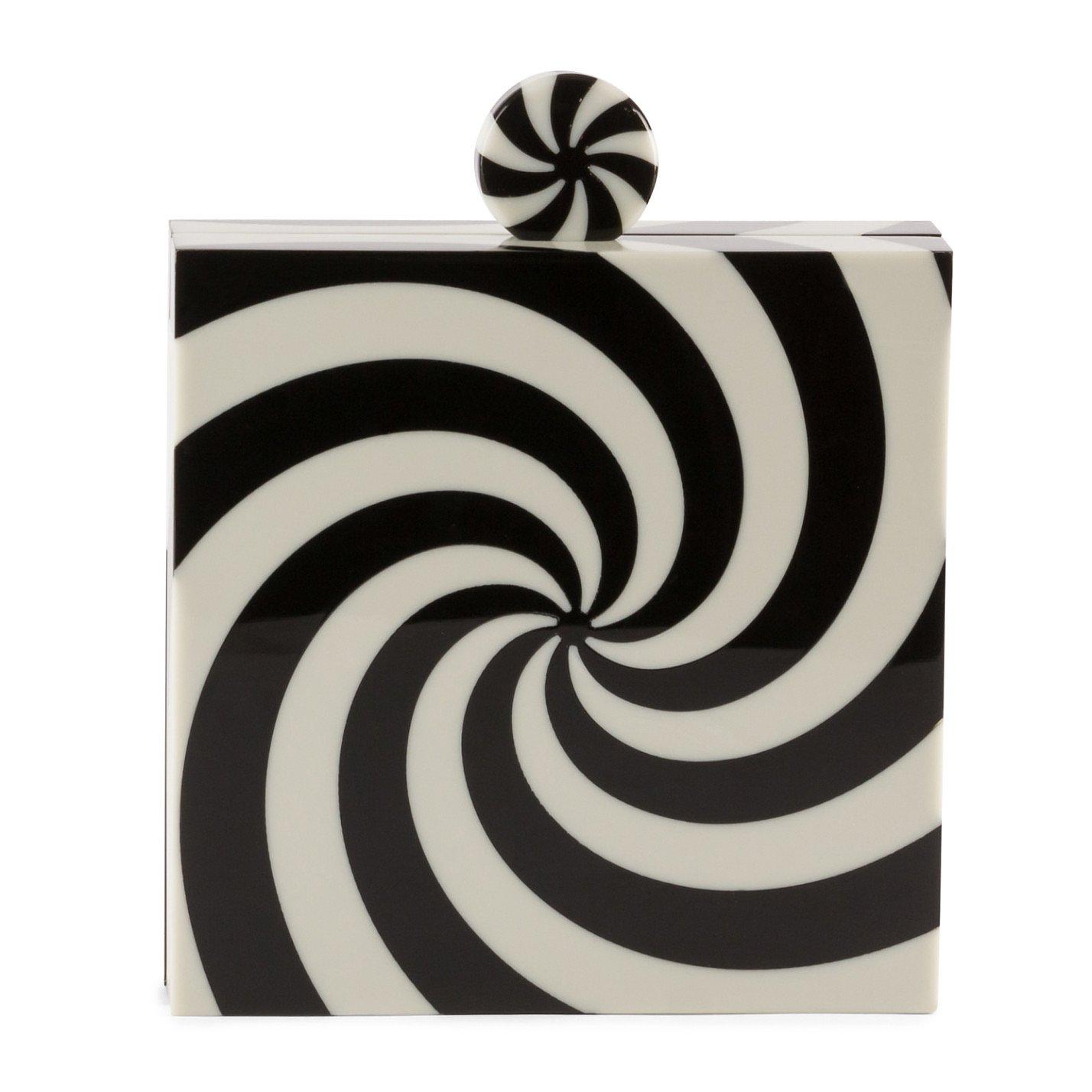Charlotte Olympia Candy Swirl Box Clutch
