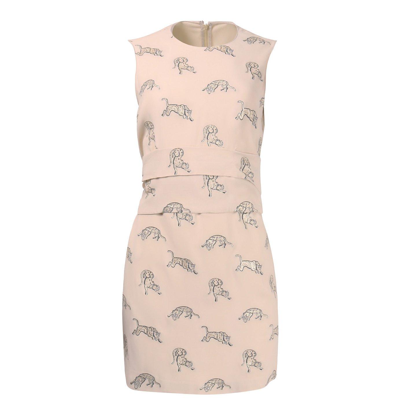Stella McCartney Tiger Print Mini Dress
