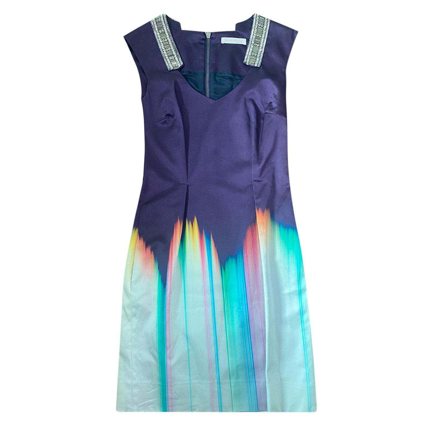 Matthew Williamson Embellished Gradient Dress