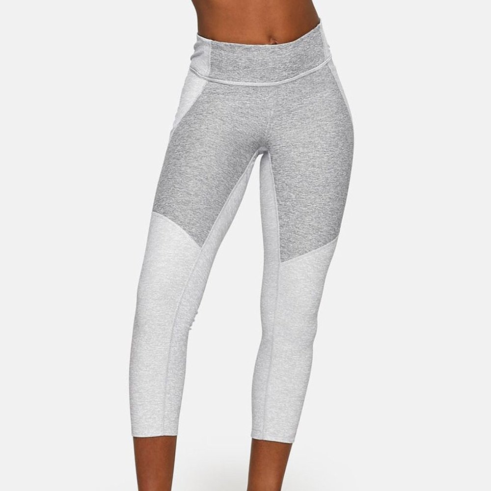 Outdoor Voices Two Tone 3/4 Leggings