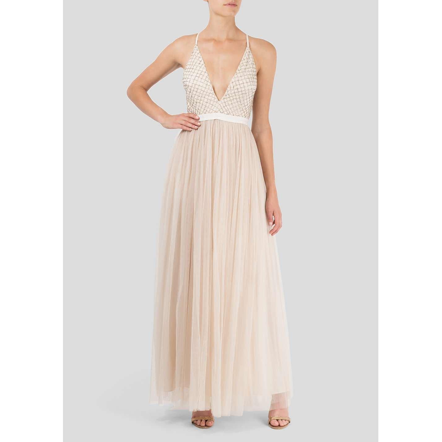 Needle & Thread Beaded Tulle Dress