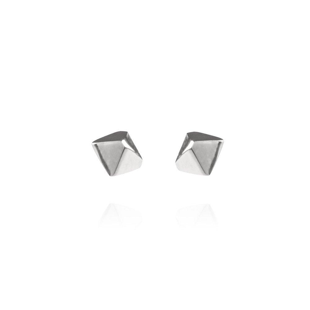 REO Jewels Mini Meteor Earrings in Silver