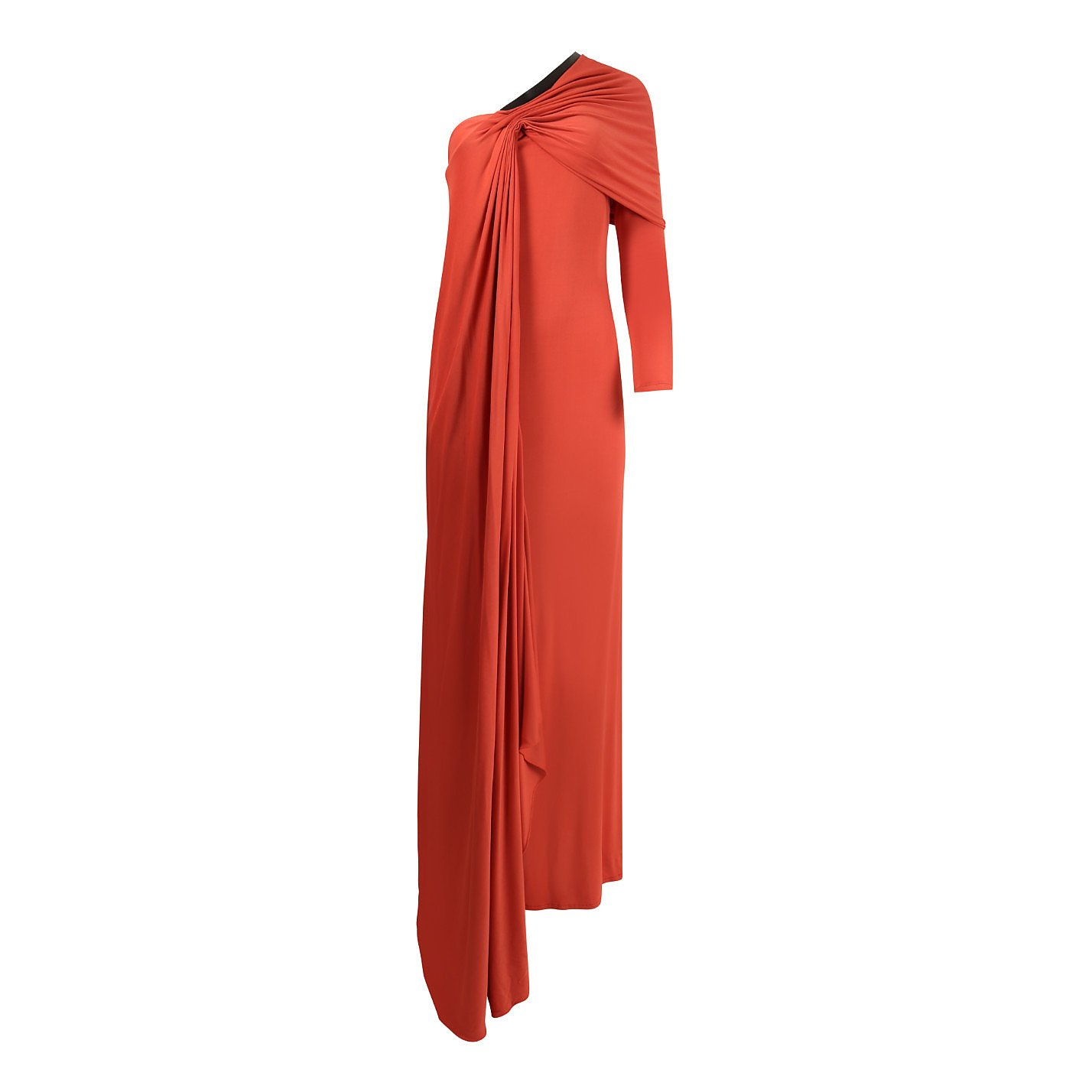 Amanda Wakeley Draped One Shoulder Gown