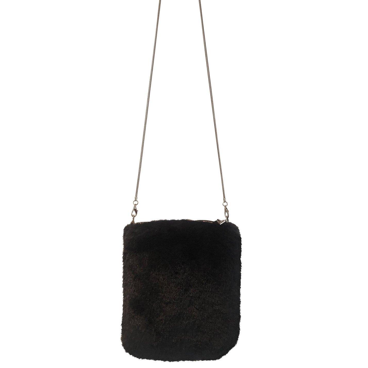 Boutique Faux Fur Crossbody Bag