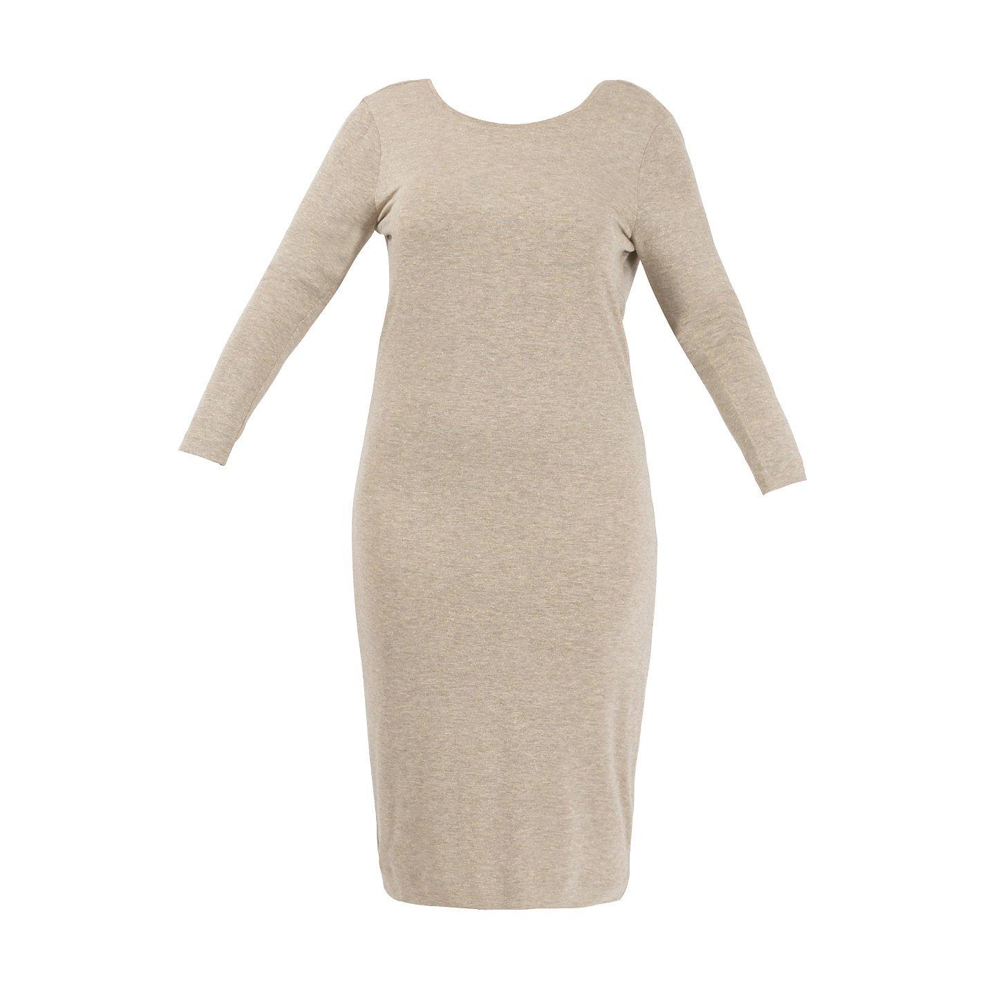 By Malene Birger Open Back Jersey Dress