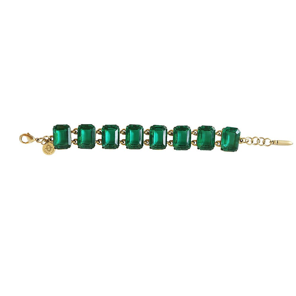 Loren Hope Eden Emerald Bracelet