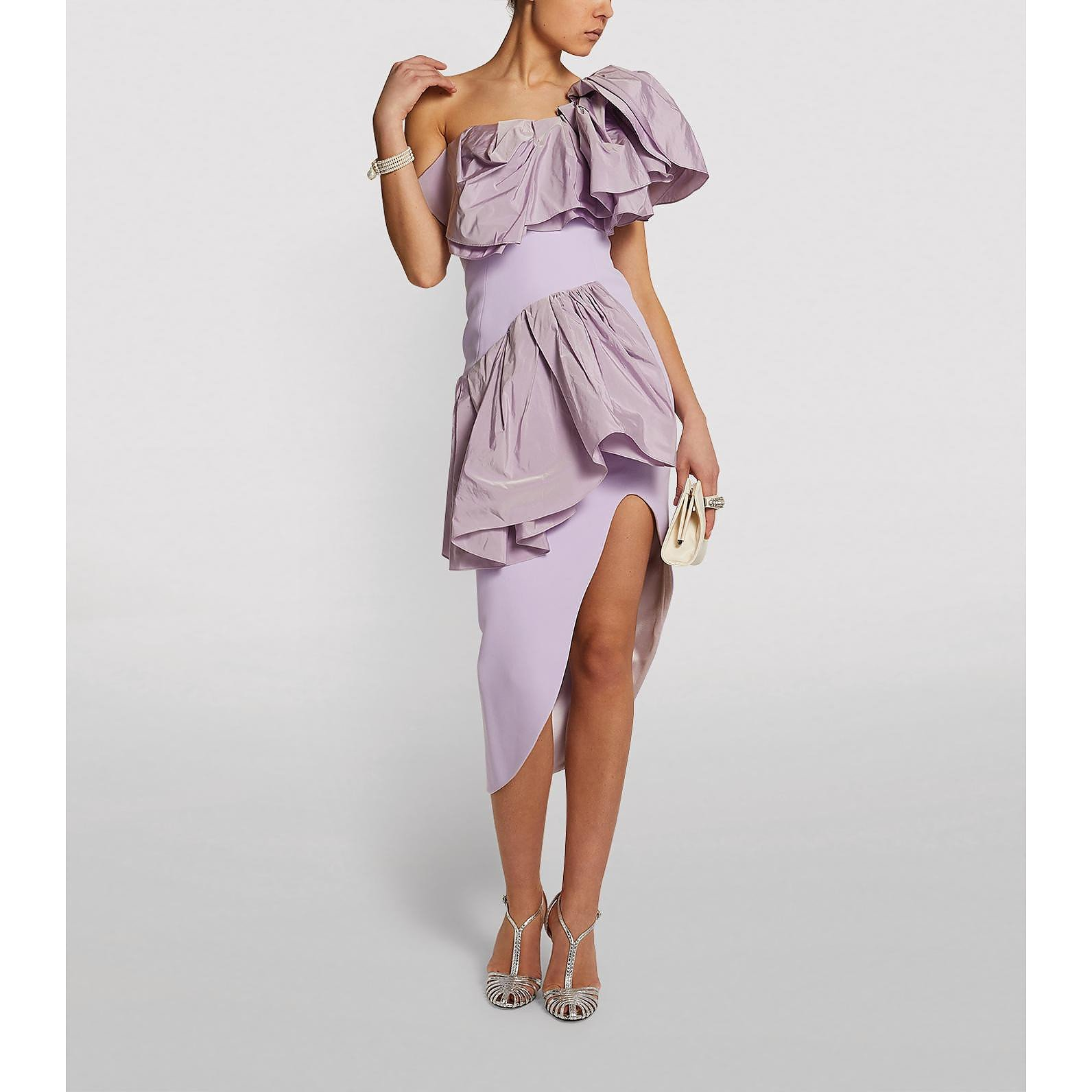 Maticevski Attentive Ruffle Dress